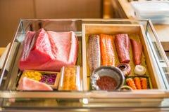 Ingrediente fresco para el sushi Imagen de archivo libre de regalías