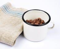 Ingrediente integrale della prima colazione Fotografie Stock Libere da Diritti