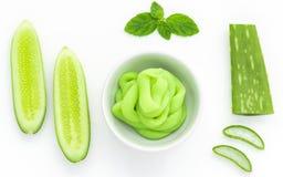 Ingrediente natural para o skincare Fotografia de Stock Royalty Free