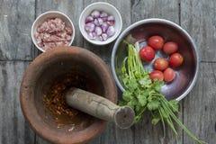 Ingrediente nel thaifood Immagine Stock Libera da Diritti
