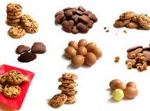 Ingrediente para las galletas Imágenes de archivo libres de regalías