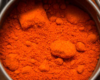 Especia de la paprika foto de archivo