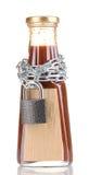 Ingrediente secreto com corrente e cadeado Imagem de Stock