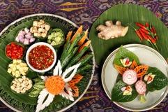 Ingrediente tailandés de la hierba Foto de archivo libre de regalías