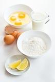 Ingredientes alimentarios Fotografía de archivo