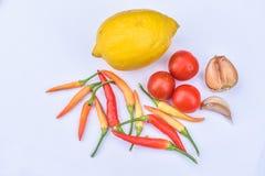 Ingredientes alimentarios Foto de archivo