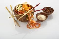 Ingredientes alimentarios asiáticos imagen de archivo libre de regalías