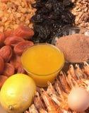 Ingredientes alimentarios sanos Imagen de archivo