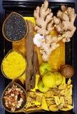 Ingredientes alimentarios vietnamitas Foto de archivo libre de regalías