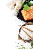 Ingredientes asiáticos tradicionais Foto de Stock