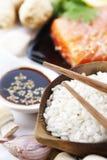 Ingredientes asiáticos tradicionales foto de archivo libre de regalías