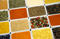 Ingredientes coloridos Imagens de Stock Royalty Free