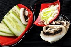 Ingredientes da culinária chinesa Imagem de Stock