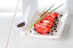 Ingredientes da salada Imagens de Stock