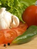 Ingredientes da salada VII imagens de stock royalty free