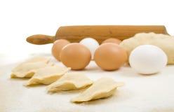 Ingredientes de alimento Fotografia de Stock