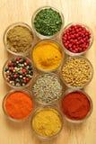 Ingredientes de alimento Imagem de Stock Royalty Free
