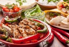 Ingredientes de alimento mexicanos tradicionais Foto de Stock Royalty Free