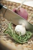 Ingredientes de cocinar sabrosos Fotografía de archivo libre de regalías