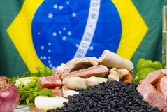Ingredientes de Feijoada Imagens de Stock Royalty Free