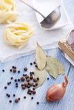 Ingredientes de la sopa Imagenes de archivo
