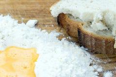 Ingredientes del pan Imagenes de archivo