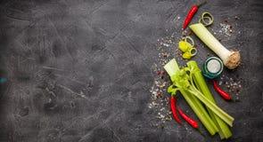 Ingredientes do legume fresco Imagem de Stock Royalty Free