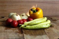 Ingredientes frescos para cocinar Fotografía de archivo libre de regalías