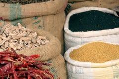 Ingredientes indianos Fotos de Stock Royalty Free