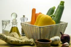 Ingredientes-ingwer salad-4 Fotografia de Stock Royalty Free