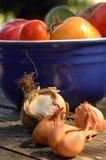 Ingredientes orgánicos Fotografía de archivo