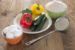 Ingredientes para cocinar Fotografía de archivo