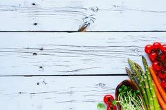 Ingredientes para cocinar del vegano imagen de archivo libre de regalías
