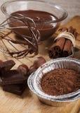 Ingredientes para cozinhar Imagens de Stock