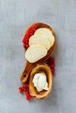 Ingredientes para el crostini Foto de archivo
