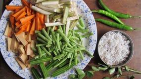 Ingredientes para el curry Fotos de archivo libres de regalías