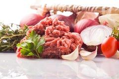 Ingredientes para la salsa de tomate italiana Imágenes de archivo libres de regalías
