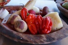 Ingredientes para o alimento chinês Imagens de Stock Royalty Free