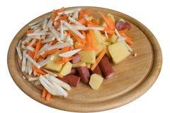 Ingredientes para o alimento saudável Imagens de Stock