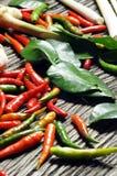 Ingredientes para o alimento tailandês Fotos de Stock Royalty Free