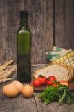 Ingredientes para o pequeno almoço Imagens de Stock