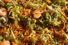 ingredientes para a preparação da receita do chop suey fotografia de stock