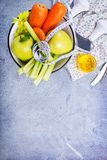 Ingredientes para a salada foto de stock