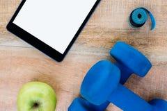 Ingredientes para um estilo de vida saudável Imagem de Stock Royalty Free