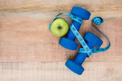 Ingredientes para um estilo de vida saudável Imagem de Stock