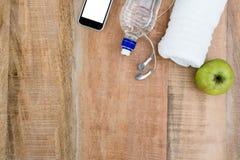 Ingredientes para um estilo de vida saudável Fotos de Stock Royalty Free
