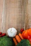 Ingredientes para um estilo de vida saudável Imagens de Stock Royalty Free