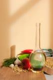 Ingredientes sanos. Imagen de archivo libre de regalías