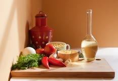 Ingredientes sanos frescos. Foto de archivo libre de regalías