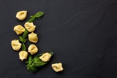 Ingredientes tradicionais da culinária italiana Fotografia de Stock Royalty Free